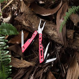 Wholesale Family Cakes - Outdoor Multi-function Tool Pliers Hot Cake Folding Convenient Sharp Handheld Knife Wrenth 13-IN-1 Camping Travel Nylon Packaging
