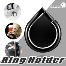 Wholesale Premium Water - Universal Mobile Phone Ring stent Premium Quality 360°Rotation Magnetic Water Drop Finger Ring Holder Stand For iPhone Sumsung Smartphone