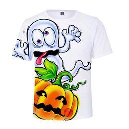 c2951a32c96d2 2018 New Hot 3D Halloween Happy Short Sleeve Cool Funny Pumpkin T-shirts  Casual Print Men Women Summer T Shirts Tops Plus Size 4XL on sale