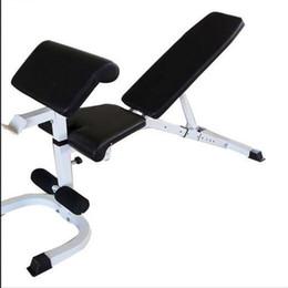 2019 equipamento de ginástica gratuito Frete grátis Multi-Função comercial body tech equipamentos de Ginástica haltere fezes Sit-ups placa placa crunches equipamento de ginástica gratuito barato