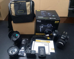 Wholesale Protax Hd - New PROTAX POLO D7100 digital camera 33MP FULL HD1080P 24X optical zoom Auto Focus Professional Camcorder DHL