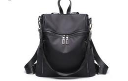 9e1e273b6 2018 nueva mochila de moda de tela de Oxford salvaje grande bolsa de viaje  de gran capacidad bolso de escuela