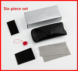 Wholesale wholesale women cloths - summer new women and men sunglasses box bag case cloth glasses original box free shipping