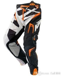 Wholesale Pants Ktm - Free Shipping TOP KTM Racetech & BMX motorcycle motocross racing off-road protection armor pants , Motorbike Trousers