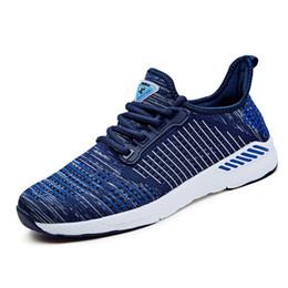 357ea0a9fdda0 Calzado de hombre Nuevo Calzado de running para hombre 2018 Calzado  deportivo transpirable Zapatillas de deporte para caminar al aire libre de  peso ligero ...