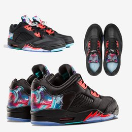 Wholesale Chinese Thread - HOT 5 5s Low Chinese New Year Kite Basketball Shoes Men Women 5s CNY Kite Sports Sneakers With Shoes Box xz115