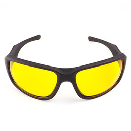 Wholesale Night Goggles For Driving - Hot Sale Night Driving glasses Anti Glare Glasses For Safety Driving Sunglasses Yellow Lens Night Vision Goggles