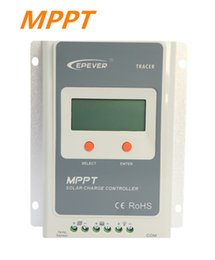 Wholesale Solar Tracer - EPEVER MPPT Solar Charge Controller Tracer A Series 12V 24V Auto Work EP Solar Battery Charge Controller Regulators (10A 20A 30A 40A)
