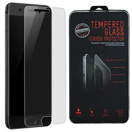 Wholesale Huawei P - 2.5D 9H Tempered glass Film Screen protector For Huawei Hua Wei P9 lite 2017 P9 plus P10 lite plus P20 lite pro P smart with plastic package