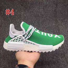 quality design 41464 1aea4 2019 sporn schuhe Human Race Running Schuhe Pharrell Williams Hu Spur Creme  Core Black Nerd Gleichheit