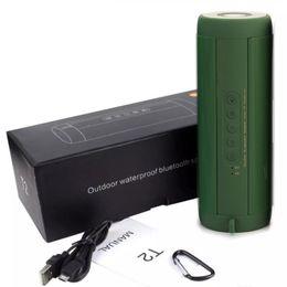 T2 Extérieur Étanche Super Bass Bluetooth Haut-Parleur Mini Portable Sans Fil Colonne Haut Parleur Haut Parleur pour iPhone Samsung ? partir de fabricateur