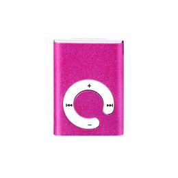 Argentina Precio de fábrica USB Mini música soporte de metal 32 GB clip MP3 micro TF / SD ranura para tarjeta con reproductor de radio FM Suministro