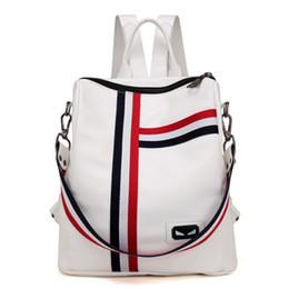 2018 новая мода площади кожа PU водонепроницаемый колледж ветер рюкзак портативный студент дорожная сумка от