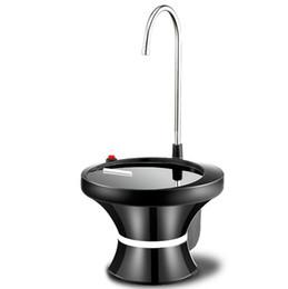 Водяные компрессоры онлайн-Беспроволочный USB распределителя воды насоса ведра электрический поручая автоматический компрессор с амортизатором воды домочадца подноса простым