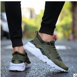 Wholesale new korean sneakers - Men's shoes 2018 Spring and Autumn Korean version of the new lace mesh flat casual shoes flat running sneakers