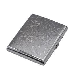 Caixas à prova de umidade on-line-Mais novo Recipiente Titular Caixa De Cigarro De Metal 4 estilo Caixa de Presente Mais Leve Para Fumar Ferramentas Acessórios à prova de umidade