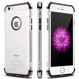 Wholesale I Cases - Shockproof Hybrid Armor 3 in 1 Clear Phone Case For iphone X i phone 7 Iphone 6S Plus 8G Samsung Goophone S8 Case