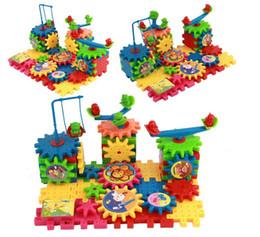 Développer la sagesse des enfants blocs de construction électriques Assemblée électronique Gear Assembly Jigsaw Puzzle jouets en plastique livraison gratuite ? partir de fabricateur