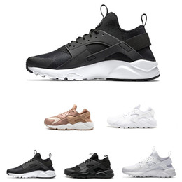 3de70b765b40b black women huraches Coupons - 2019 Huarache 1.0 Running Shoes Triple White  Black Red Huraches 4.0