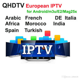 Canada 1 an QHDTV Arabic Sports Italie Allemagne 1300+ Europe IPTV Arabic Iptv Canaux Streaming Compte IPTV Apk Travaille sur Android smarttv E2 box Offre