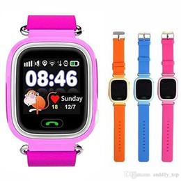 2019 цена мобильного телефона Q90 Bluetooth GPS слежения Smartwatch сенсорный экран с WiFi фунтов для iPhone IOS Android SOS вызова анти потерянный смартфон носимого устройства в коробке