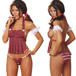 Jogos de moda sexy on-line-Marca de Moda de Nova Lingerie Sexy Estudante Vestido Uniforme Tentação Jogo Clube Tamanho Estudantes Estágios transporte da gota