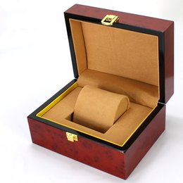 Wholesale Making Gift Tags - 2018 latest made in China small luxury wooden watch packaging box charm wood gift boxes wholesale