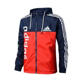 Новые мужчины куртка пальто Роскошные дизайнерские куртки ветровка с капюшоном объявление толстовка с длинным рукавом Марка Мужская одежда от