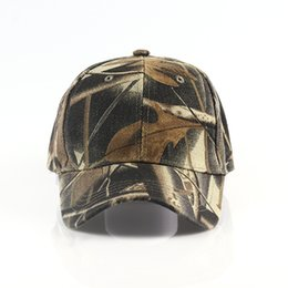 49f8429610b 2018 Camouflage Hats For Men Women Cotton Camo Baseball Cap Outdoor  Climbing Hunting Camo Hats Army Snapback Dad Cap on sale