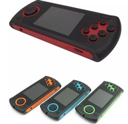Wholesale Tv Game Player - Sega Game Controller Gampad Portable Video Game Player MD With SD Card Slot Joystics 4 Color