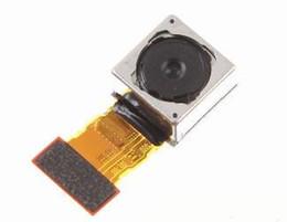 mini telefone celular m5 Desconto Trabalhando Grande Voltar Traseira Principal Módulo Da Câmera Cabo Flex Para Sony Xperia Z3 L55 L55w D6603 D6653