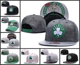 Wholesale Logo Sport Racing - 2018 New Top Quality Boston Men celtics Golf Visor baseball Hat Embroidered logo Sport Basic Adjustable Cap hot celtics Flat Baseball Hats