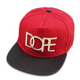 Wholesale Outdoor Snapbacks - 2018 new DOPE Baseball Caps Band Hats Outdoor luxury Snapbacks Sports Hip-Hop Ball designer Caps Hats For Men