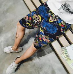 Vêtements en lin confortables en Ligne-Mens Beach Shorts Eté Short en lin confortable Demi-longueur au genou Bord de mer Shorts Casual Loose Wear Clothing