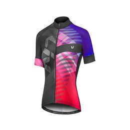 2018 Anti-pilling Short Sleeve jersey only Summer Women MTB Bike Clothing  Breathable Bicycle Clothes Ropa Ciclismo Girls UV Cycling Jersey a992795ad