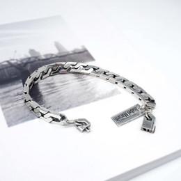 d52ccde65c81 Venta al por menor Hot INS Item Band pulsera de plata Isabel Marant tallada  simple elegante pulsera de deportes para mujer como regalo de cumpleaños    ...