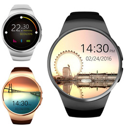 2019 orologio bluetooth coreano KW18 Bluetooth Smart Watch Phone Schermo intero Supporto IPS SIM TF Card Smartwatch Frequenza cardiaca per IOS Android
