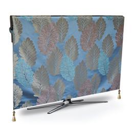 Argentina Cubierta de polvo de la TV de lujo a prueba de polvo a prueba de proteger LCD LED de televisión de plasma mesa Runner paño mantel tapete cojín de la cubierta Suministro