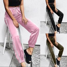 2019 джинсовые эластичные лодыжки Женщина джинсы 2018 мода Женская повседневная повязка полоса брюки эластичный лодыжки длина брюки 7.13 дешево джинсовые эластичные лодыжки