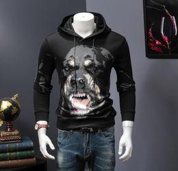 Wholesale Sweater Design Man - 2018 men luxury design Sweatshirts fashion men funny brand cotton tops and Sweater 5050