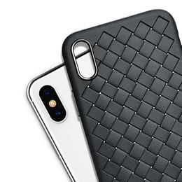 caso de carregamento do iphone 6s Desconto Grade de tecido caixa do plutônio para samsung s8 para iphone x 8 7 6 s 6 além de casos de couro macio carga do telefone sem fio conchas acessórios