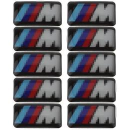 2019 emblemas do carro adesivos chevrolet Veículo de carro Emblema Da Roda M Esporte 3D Emblema adesivo decalques logotipo para bmw M série M1 M3 M5 M3 X1 X3 X5 X6 E34 E36 E6 Car Styling Adesivos