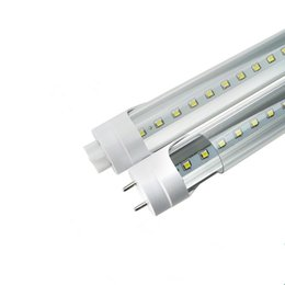 Tubo led luces super brillante online-Bombillas LED Tubos 20W 4 pies T8 1200 mm Tubo de luz LED AC85-265V G13 SMD2835 Luces de led Super brillante 2000lm CE CE