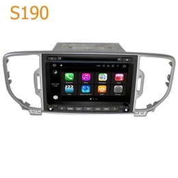 Wholesale Gps For Kia Sportage - Road Top S190 Android 7.1 System Quad Core CPU 2 Din Car Radio DVD Player GPS Navigation Head Unit Car Computer for Kia Sportage 2016 2017