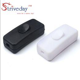 Drucktastenlampe online-10 teile / beutel Hohe Qualität Schwarz Weiß 303 Schalter Halfway Rocker Push Button Wippschalter Tischlampe Online