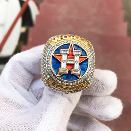 Wholesale fan rings - 2018 wholesale high quality 2017-2018 Houston Astros World Baseball Championship Ring SPRINGER A LTUVE CORREA Fan Gift free Shipping
