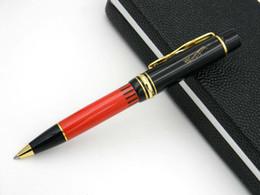 Wholesale golden supplies - Business Writing Supplies office writer Hemingway Golden BLACK Clip Metal Ballpoint Pen