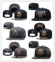team visors Coupons - Wholesale New Caps Vegas Golden Knights Hockey Snapback Hats Black Color Cap Gold Black Gray Visor Team Hats Mix Match Order All Caps