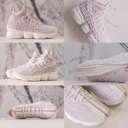 Wholesale Eva Long - KITH x James 15 Rose Pink 15s Mens Basketball Shoes Long Live the K Sneakers Boots US 7-12