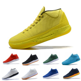 buy online e9f8a c6397 Beste KOBE AD Mid 12 Basketball Schuhe XII Derozan Schwarz Rot Lila 12s EP  Beste Qualität Sport Turnschuhe Größe 40-46